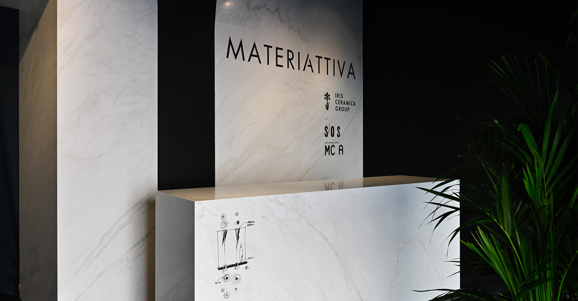 <strong>SapienStone at Fuorisalone 2019 with the Iris Ceramica Group in MateriAttiva</strong><br />
